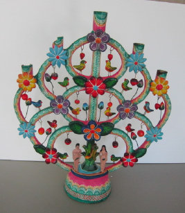 A restored Mexican Tree of Life.